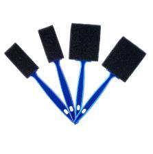 Kit com 4 Pincéis de Espuma para Detalhamento Automotivo Vonixx