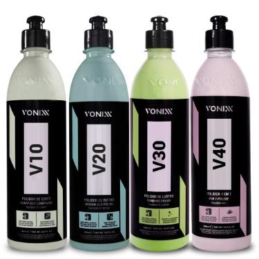 Kit de Polimento Vonixx - V10 V20 V30 V40