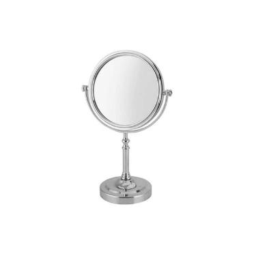 Espelho Redondo com  Suporte UNY HOME