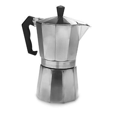 Cafeteira Italiana em Aluminio Para 6 Cafezinhos