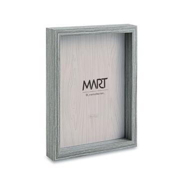 Porta Retrato em mdf Cinza  - 10X15 MART