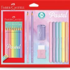 Kit Tons Pastel Faber Castel C/20 Unidades