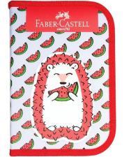 ESTOJO ESCOLAR PORCO ESPINHO FABER CASTELL