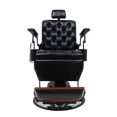 Cadeira Reclinável Hawk Capitone Preto Kixiki (Sob Encomenda)