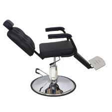 Cadeira Rec Barber Boss Preto Perol  Kixiki (Sob Encomenda)