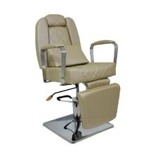 Cadeira Reclinável Lady Areia Perol Kixiki (Sob Encomenda)