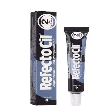 Tintura Refectocil para Sobrancelhas e Cílios 15ml Preto Azulado 2.0