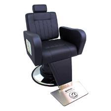 Cadeira Rec Sparta  Preto Viena Kixiki (Sob Encomenda)