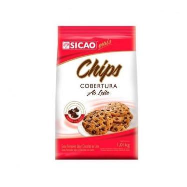 COBERTURA CHIPS AO LEITE 1,01KG SICAO