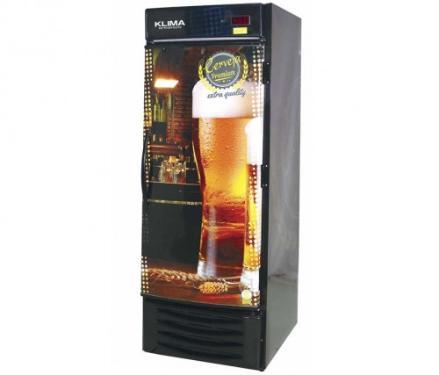 Cervejeira Vertical Klima Porta Cega 220v Para 8 Caixas