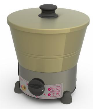 Tacho Fritador 1 Litro Progas Prf-01-E 220v