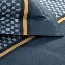 Jogo de lençol Trussardi Martino 2,20mx2,60m casal estampado